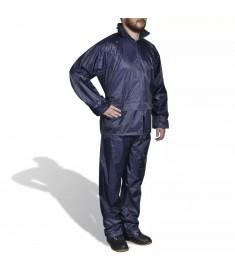Σετ αδιάβροχο με κουκούλα Ανδρικό Ναυτικό Μπλε L  130186