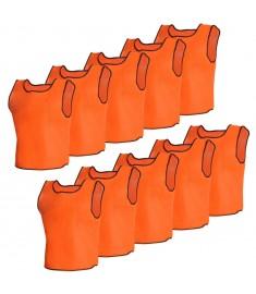 Σαλιάρα ποδοσφαίρου Πορτοκαλί Junior 10 τμχ  130195