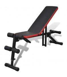 Πάγκος Γυμναστικής Ρυθμιζόμενος σε Πολλαπλές Θέσεις   90641