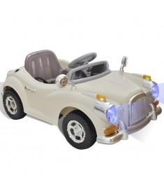 Ηλεκτροκίνητο Παιδικό Αυτοκίνητο (Μπεζ)   80083