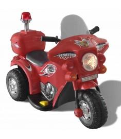 Ηλεκτροκίνητη Παιδική Μοτοσυκλέτα (Κόκκινη)   80087