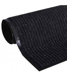 Πατάκι Εισόδου Μαύρο 90 x 120 εκ. από PVC   241265