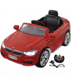 Ηλεκτροκίνητο Παιδικό Αυτοκίνητο BMW Κόκκινο με Τηλεκοντρόλ   80094