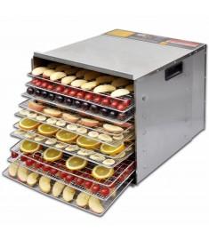Ξηραντήρας τροφίμων με 10 δίσκους - Ανοξείδωτο ατσάλι  50301