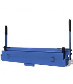 Χειροκίνητη διπλωτική μηχανή μεταλλικών φύλλων 630 mm  141319
