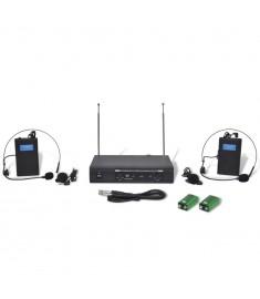 Δέκτης με 2 Ασύρματα Ακουστικά VHF    50303