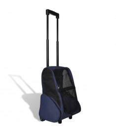 Τσάντα Μεταφοράς Κατοικίδιων Αναδιπλούμενη Πολυχρηστική Μπλε    170193