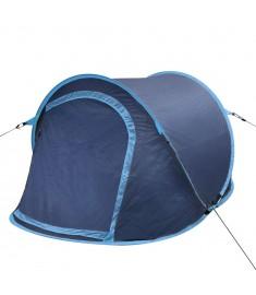 Σκηνή Camping Pop-up 2 Ατόμων Ναυτικό Μπλε / Ανοιχτό Μπλε  90670