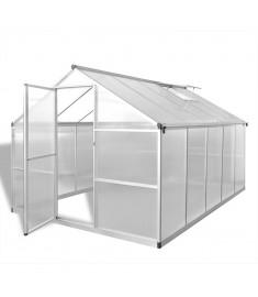 Θερμοκήπιο Ενισχυμένο Αλουμινίου με Πλαίσιο Βάσης 7,55 μ²   41319