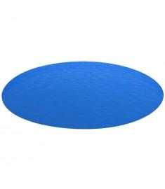 Κάλυμμα Πισίνας Στρογγυλό Μπλε 549 εκ. από Πολυαιθυλένιο  90674