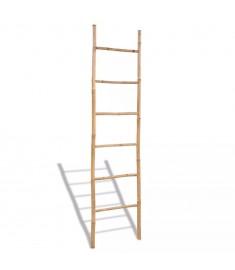 Μπαμπού Διακοσμητική Σκάλα για Πετσέτες με 6 Σκαλοπάτια  41496