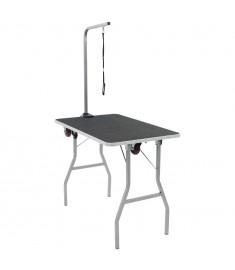 Τραπέζι Καλλωπισμού Κατοικίδιων Φορητό με Ροδάκια  170215