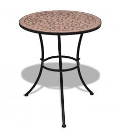 """Τραπέζι """"Μωσαϊκό"""" Χρώμα Τερακότα 60 εκ.   41528"""