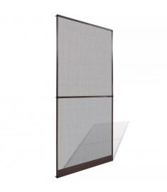 Σήτα Πόρτας με Μεντεσέδες Καφέ 100 x 215 εκ.  141564