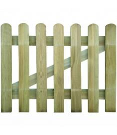 Πόρτα Φράχτη 100 x 80 εκ. από Ξύλο FSC   41415