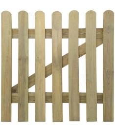Πόρτα Φράχτη 100 x 100 εκ. από Ξύλο FSC   41416