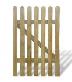 Πόρτα Φράχτη 100 x 150 εκ. από Ξύλο FSC   41418