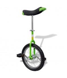 Μονόκυκλο Ποδήλατο Ρυθμιζόμενο Πράσινο 16 Ιντσών   90843