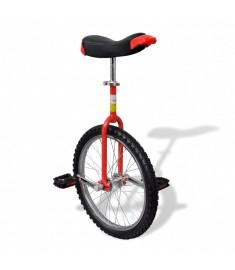 Μονόκυκλο Ποδήλατο Ρυθμιζόμενο Κόκκινο 20 Ιντσών  90844