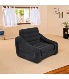 Intex Πολυθρόνα / Κρεβάτι Φουσκωτή  1 Ατόμου 107 x 221 x 66 εκ. 68565NP  90812