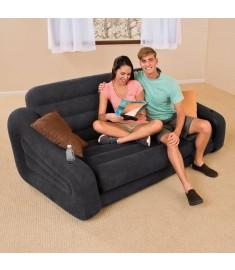 Intex Καναπές - Κρεβάτι Φουσκωτός 68566NP 2 Ατόμων 193 x 221 x 66 εκ.   90813