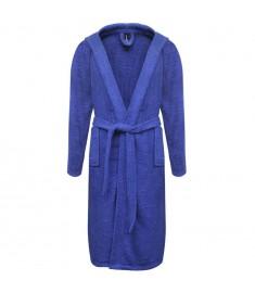 Μπουρνούζι Unisex Πετσετέ Μπλε L από 100% Βαμβάκι 500 γρ./μ.²  130577