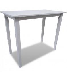 Τραπέζι Μπαρ Λευκό Ξύλινο   241701