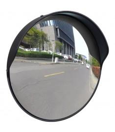 Καθρέπτης Ασφαλείας Κυρτός Εξωτερικού Χώρου Μαύρος 30 εκ. Πλαστικό PC   141679