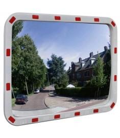 Καθρέπτης Ασφαλείας Κυρτός Ορθογώνιος 60 x 80 εκ. με Ανακλαστήρες   141683