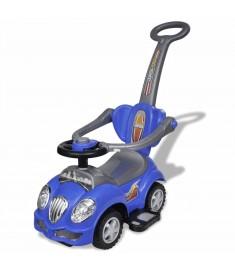 Αυτοκίνητο Περπατούρα Παιδικό με Λαβή Γονέα Μπλε   10073