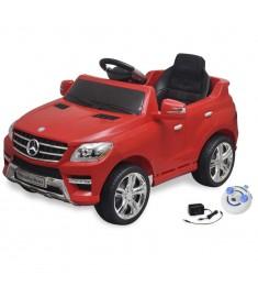 Mercedes Benz Αυτοκίνητο Ηλεκτροκίνητο ML350 Κόκκινο, Τηλεχειριστήριο   10093