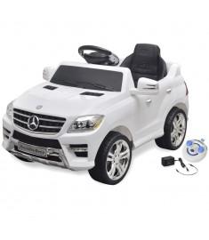 Mercedes Benz Αυτοκίνητο Ηλεκτροκίνητο ML350 Λευκό 6V, Τηλεχειριστήριο   10094