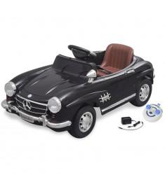 Mercedes Benz Αυτοκίνητο Ηλεκτροκίνητο 300SL Μαύρο 6 V,Τηλεχειριστήριο   10096