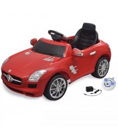 Mercedes Benz Αυτοκίνητο Ηλεκτροκίνητο SLS AMG Κόκκινο,Τηλεχειριστήριο  10097