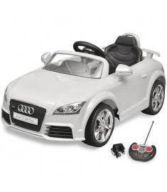 Audi Ηλεκτροκίνητο Αυτοκίνητο TT RS για Παιδιά με Τηλεχειρ/ριο Λευκό  10087