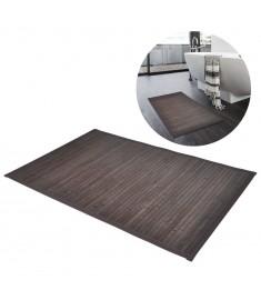 Πατάκια Μπάνιου 2 τεμ. Σκούρο Καφέ 40 x 50 εκ. από Μπαμπού  242113