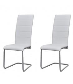 """Καρέκλες Τραπεζαρίας """"Πρόβολος"""" 2 τεμ. Λευκές   242287"""