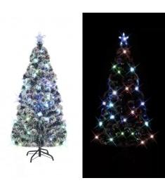 Χριστουγεννιάτικο Δέντρο Τεχνητό 220 Κλαδιά 180 εκ. με Βάση/LED  242427