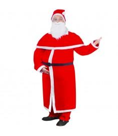 Στολή Αγίου Βασίλη με Κάπα Σετ Χριστουγεννιάτικο Κοστούμι