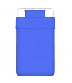 Σετ Παπλωματοθήκη 2 τεμ. Μπλε 135x200/80x80 εκ. Βαμβάκι   131187