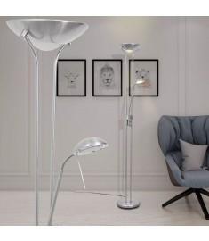 Φωτιστικό Δαπέδου LED 23 W με Dimmer με Κωνικό Καπέλο  242730