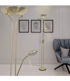Φωτιστικό Δαπέδου LED 23 W με Dimmer Μπρονζέ  242731
