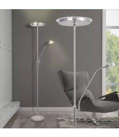 Φωτιστικό Δαπέδου LED 23 W με Dimmer με Επίπεδο Καπέλο  242734