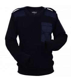 Πουλόβερ Εργασίας Ανδρικό Ναυτικό Μπλε Μέγεθος XXL  131343