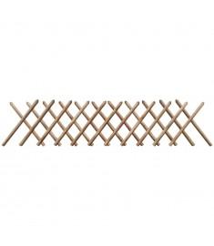 Καφασωτό Φράχτης Πτυσσόμενο 250 x 60 εκ. Εμποτισμένο Ξύλο FSC