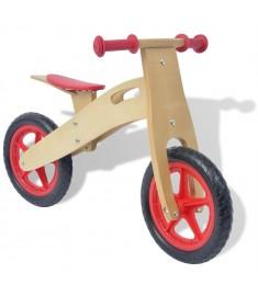 Ποδήλατο Ισορροπίας Κόκκινο Ξύλινο  80137