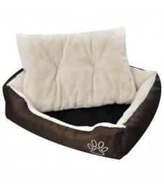 Κρεβάτι Σκύλου Καφέ και Μπεζ XXXL   131367