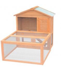 Κλουβί Ζώων / Κουνελιών Εξωτερικού Χώρου Ξύλινο    170346