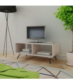 Έπιπλο Τηλεόρασης Γκρι 90 x 39 x 38,5 εκ. Ξύλινο  243008
