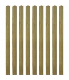 Σανίδα Φράχτη 10 τεμ. 140 εκ. από Εμποτισμένο Ξύλο FSC  42013